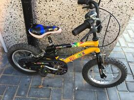 """Bronx Childs bike with 14"""" wheels only £10"""