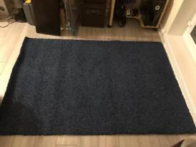 Navy Ikea Rug 2 available same size