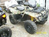 2008 Can-Am Outlander 650 H.O. EFI XT 4x4