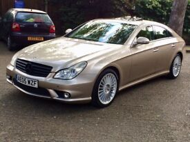 Mercedes CLS 500 V8 AMG Full Service History Hpi Clear Low Miles