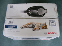 Bosch GS-50 Power - Bagless, quiet (almost silent) vacuum. Boxed, brand new.