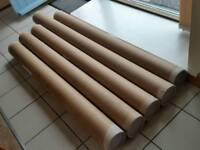 Heavy duty packaging tubes