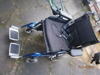 Aries Power Wheelchair, New Batteries, New Charger, Solid Tyres