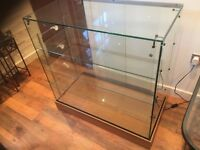 NEW- Retail Glass Display Cabinet