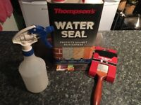 Thomson's Water Seal 5L and applicators