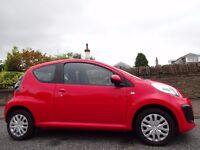 12 MONTH WARRANTY! (2013) CITROEN C1 VTR Genuine 13,000 Miles - FSH - Lady Owned - Top Specification