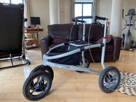 """Trionic Veloped Rollator with 14"""" wheels V.G.C."""