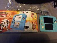 Nintendo 2ds Pokemon Sun Special Edition Console for sale!