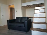 Refurbished Studio Flat To Let on Glasgow Road, £350pcm