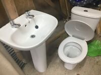 Brand new modern wc and whb sets