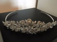 Bride Silver Tiara