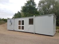 32ft x 10ft Portable Cabin Office. Site welfare cabin. Double glazed and completely dry. No VAT