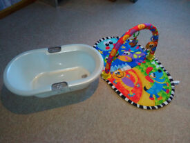 baby bath and play mat