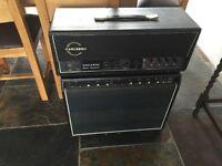 1969 Carlsbro CS 60w valve head vintage amplifier