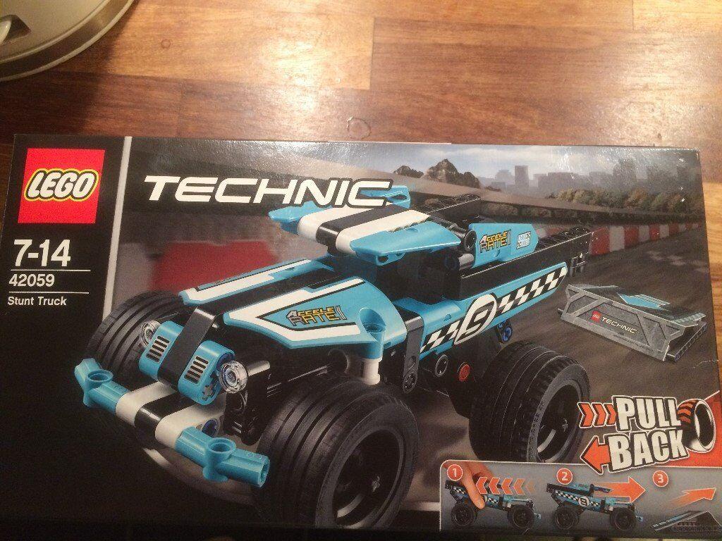 Brand New Lego Technic Stunt Truck 42059