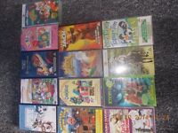 Various Children's Titles VHS and DVD's