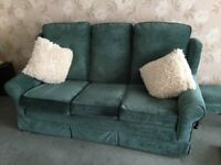 SALE: Three seater sofa, two seater sofa & single chair reduced