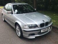 BMW 325IM SPORT SILVER WITH BLACK LEATHER 07379239455