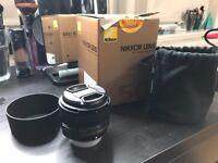Nikon AF-S NIKKOR F/1.8G LENS - 50 mm