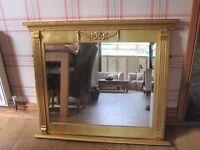 Large Laura Ashley Gilt / Gold Mirror