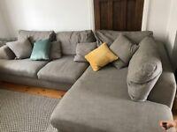 Next Stratus corner sofa