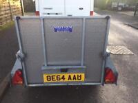 Ifor Williams p5e trailer + ramp & spare wheel