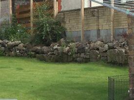 FREE STONES.... stone dyke, stone walling