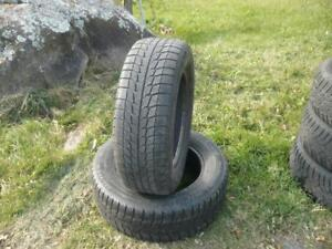 Two 205-65-15 snow tires $50.00