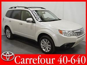 2012 Subaru Forester 2.5X AWD Limited Cuir+Navigation+Toit Ouvra