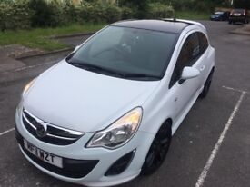 Vauxhall Corsa Limited Edition 1.2 White