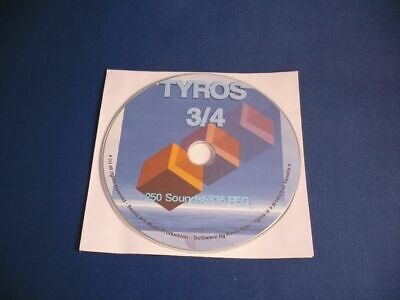 YAMAHA TYROS 3/TYROS 4 - MEGA PACK CD - 2 5 0 Sounds  + 3 3 6 REGISTRATIONEN ! na sprzedaż  Wysyłka do Poland