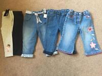 12-18 months girls trousers