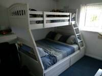 Single and double bunkbed