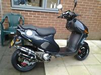 FOR SALE ITALJET FORMULA 125CC TWIN CYLINDER SCOOTER
