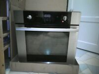 free stainless steel electric oven