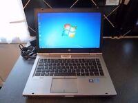 HP EliteBook 8470p laptop. Excellent Condition, Intel Core i7 3rd Gen. 8GB RAM. Windows 10 Pro