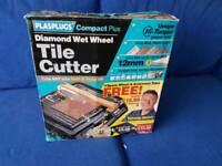 Diamond Wet Wheel Tile Cutter + spare wheel