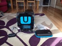 Wii u 32gb premium pack boxed, needs controller screen fixing