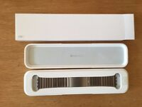 Genuine Apple Watch 2 Stainless Steel Link Bracelet Silver Or Black Available Now!!! RRP £450/£550