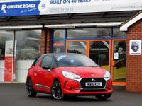 DS DS 3 1.6 BLUEHDi ELEGANCE 3dr 98 BHP (red) 2016