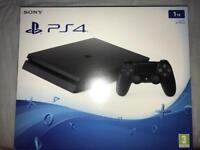 PS4 Slim 1TB Box Only