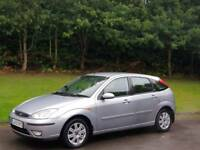FORD FOCUS AUTOMATIC LX 2004 5DOOR 2LADY OWNER 9SERVICES MOT TILL2/3/2018 EXCELLENT CONDITION