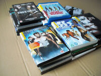 JOB LOT - a bag full of MOVIES on DVDs (incl some Blu Ray) - just £ 5 pounds