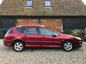 Peugeot 407SW 2.0Hdi 5dr for sale - 2 owners, 2 keys, + set of 4 winter tyres