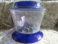 Round fish tank