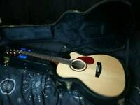 Electro Acoustic Freshman FA400GACE -DUAL BLEND PICKUP - HARDCASE INCLUDED