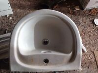 FREE Bathroom sink basin and pedestal