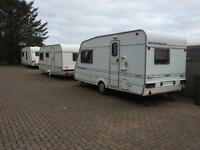 CARAVANS & PITCHES FOR RENTAL, 2 & 4 BERTH** FROM £100.00/WEEK, ON THE AWPR ROUTE - PLENTY PARKING