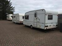 CARAVANS & PITCHES FOR RENTAL, 2 & 4 BERTH** FROM £99.00/WEEK, ON THE AWPR ROUTE - PLENTY PARKING