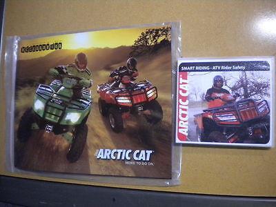 2006 Arctic Cat Accessories Book & Smart Riding ATV Rider Safety DVD Bundle Arctic Cat Atv Accessories